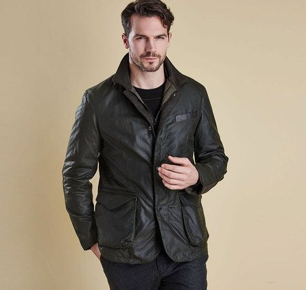 Barbour OBSERVE WAX Jacka – Sage. Barbour Jacka Herr Online, Barbour Outlet Online, Barbour Clearance Sale