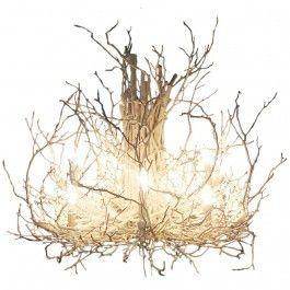 Best 25+ Twig chandelier ideas on Pinterest   Branch chandelier ...