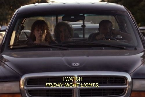 """10 Times """"Friday Night Lights"""" And """"Parenthood"""" Were The Exact Same Show"""