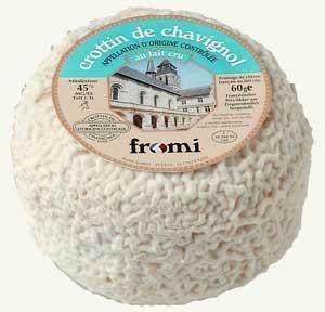Blog 75: Recettes Fromages-Crottin de Chavignol sur pomme