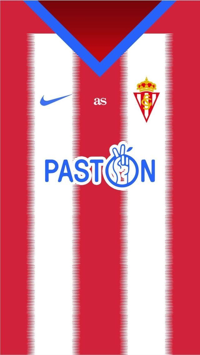 Sporting Gijon Of Spain Wallpaper Camisas De Futebol Times De Futebol Futebol