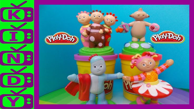 In The Night Garden. In The Night Garden Play Doh. Iggle Piggle, Upsy Da...