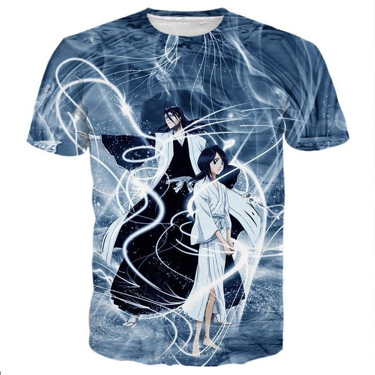 Aizen sousuke and rukia kuchiki shirts bleach art