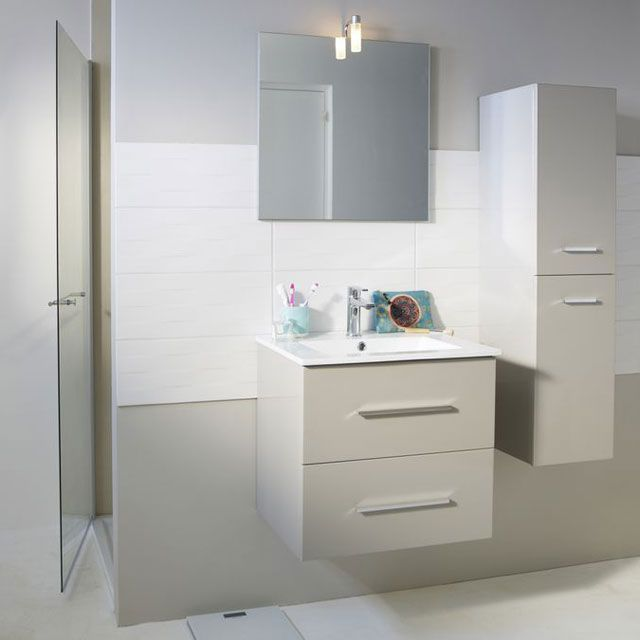 meuble salle de bain orfea castorama