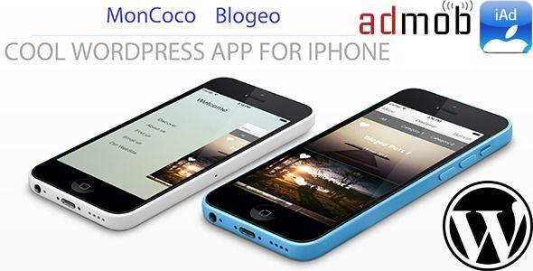 WordPress iOS App + PUSH ! iAD + AdMob - V2.5 ! IOS 9 - CodeCanyon Item for Sale