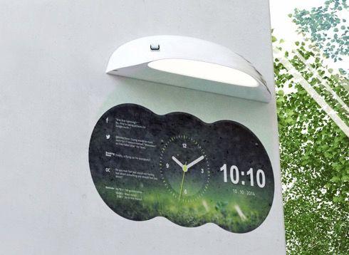 『Coolest Clock』は、ご家庭だけでなく店舗等でも使えそうなディスプレイクロックです。 https://www.youtube.com/watch?v=LGGEiDHR-Nw 壁に取り付けて使用するこちらの時計プロジェクター。スマホアプリと連動することで、好きなデザインの時計を壁に投影することができます。 標示できるのは時計の他にも天気やカレンダー、SNSフィードなどがあり。お気に入りの時計がなかなか見つからないという方にいかが?(via The Gadget Flow)