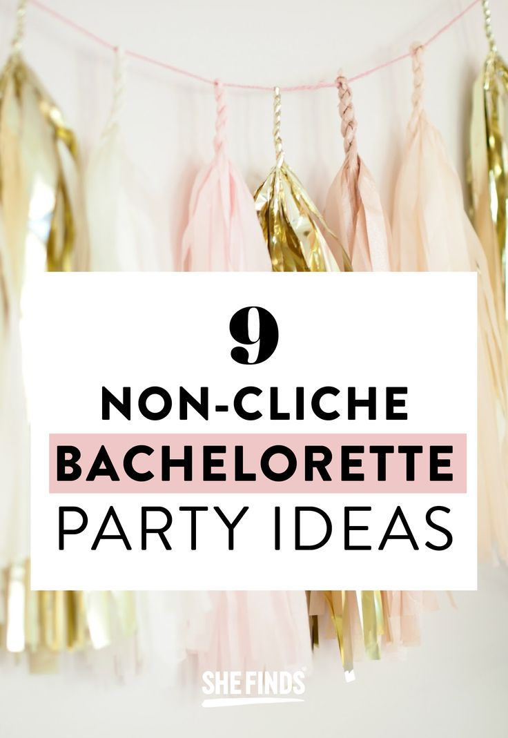 12 bachelorette party activities (that don't involve man-handling strangers in bars) that are neither extremely embarrassing nor bridal-shower lame. Print out the rules, let the liquor flow and wait for the good times to roll at http://www.shefinds.com/2012/bachelorette-party-games-that-dont-suck-from-dirty-mad-libs-to-penis-pinatas/