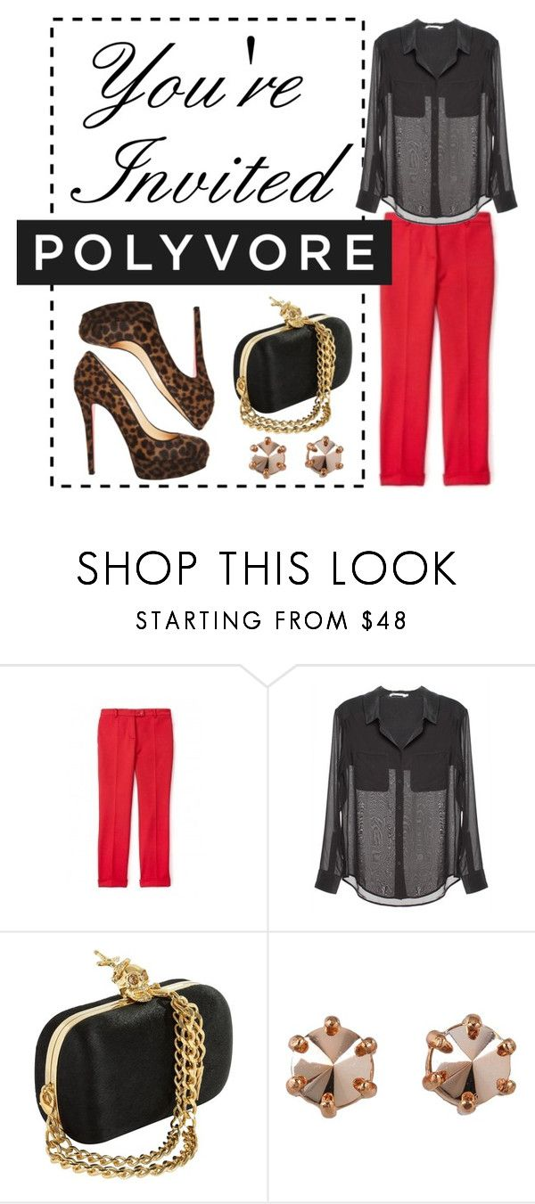 """""""Join the Polyvore Community!"""" by polybot ❤ liked on Polyvore featuring Moschino Cheap & Chic, T By Alexander Wang, Marc by Marc Jacobs and Christian Louboutin"""