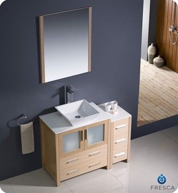 Photo Gallery On Website Best price to buy Fresca Torino Modern Bathroom Vanity Side Cabinet online from our Exotic Home Expo website See our other Fresca products