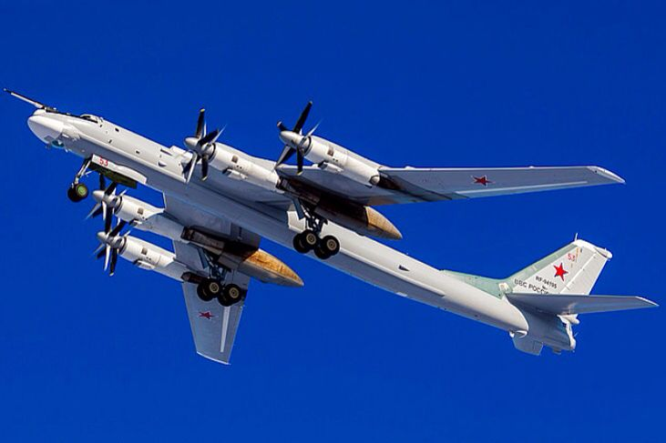 Image result for Tupolev-95MS bombers