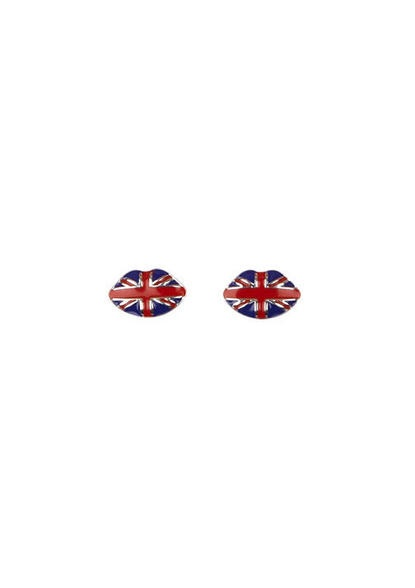 Union Jack Lip Stud