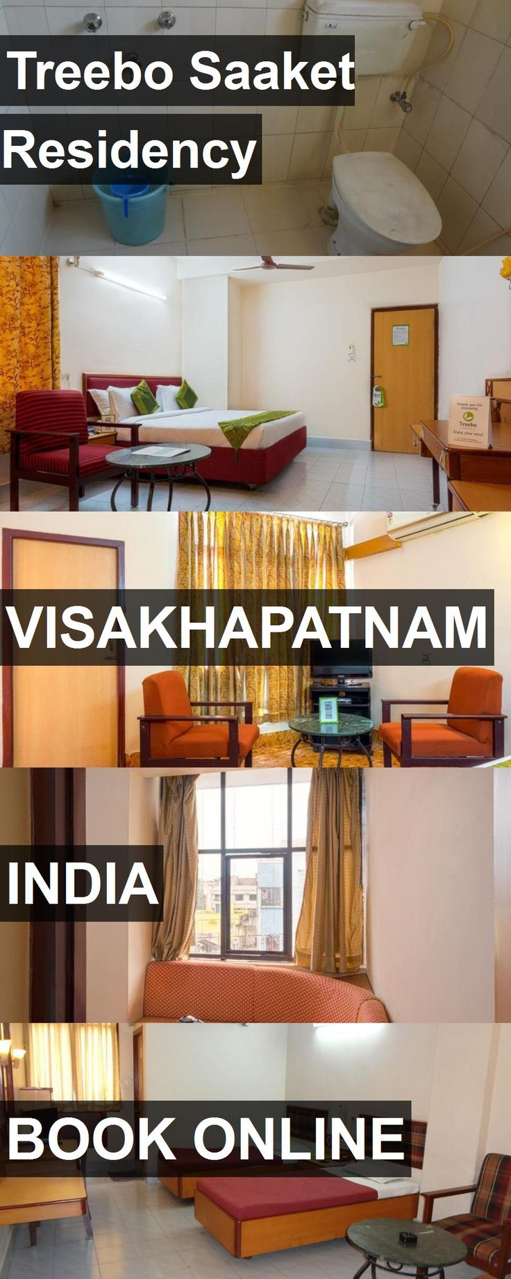 Hotel Treebo Saaket Residency in Visakhapatnam, India. For more information, photos, reviews and best prices please follow the link. #India #Visakhapatnam #travel #vacation #hotel