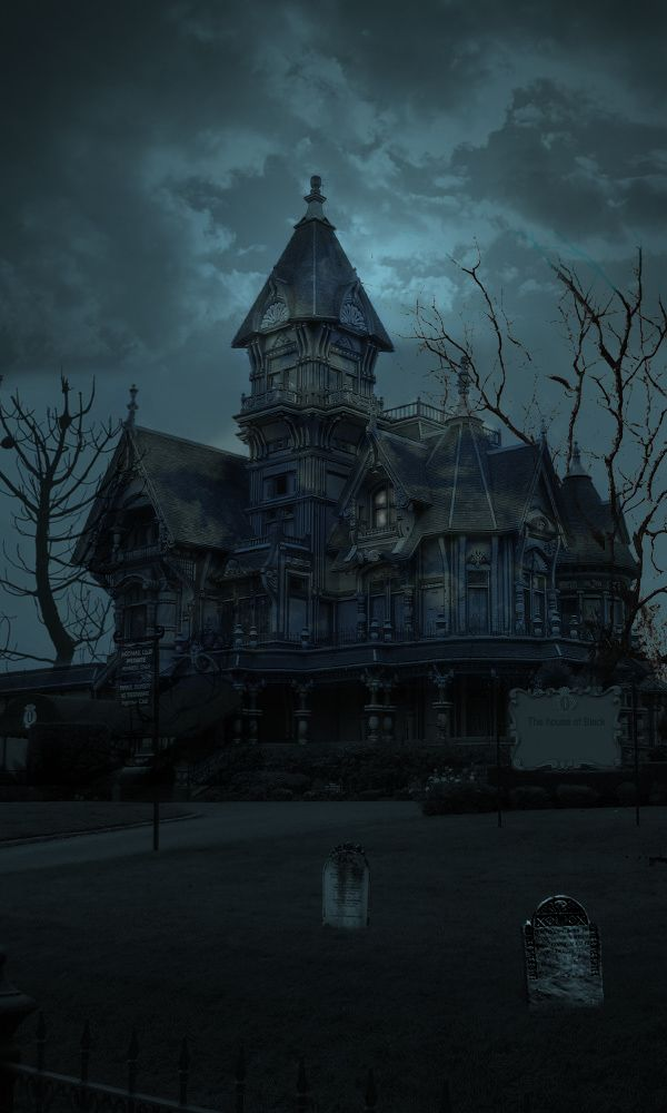 Haunted house. Repinned from Vital Outburst clothing vitaloutburst.com