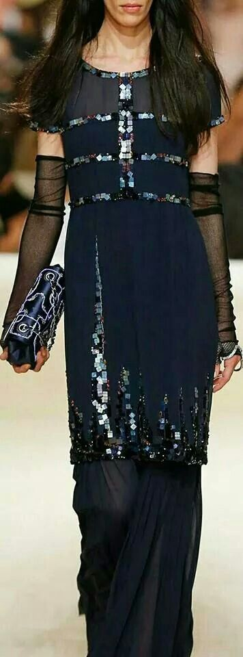Chanel resort /2015. For me this could pass as an info western outfit:() like it