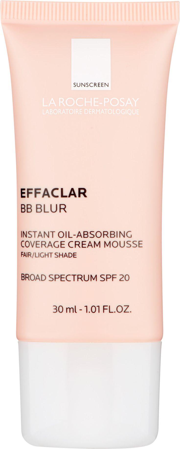 La Roche-Posay Effaclar BB Blur - Instant Oil-Absorbing Coverage Cream Mousse 30ml Fair/Light