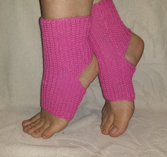 Knitted Yoga Socks Double Wear Socks Simple and by BareWolfSocks
