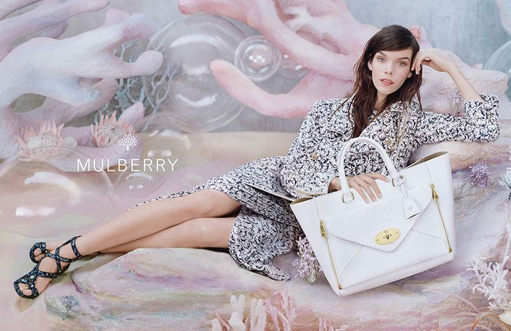 Mulberry Spring Summer 2013 campaign