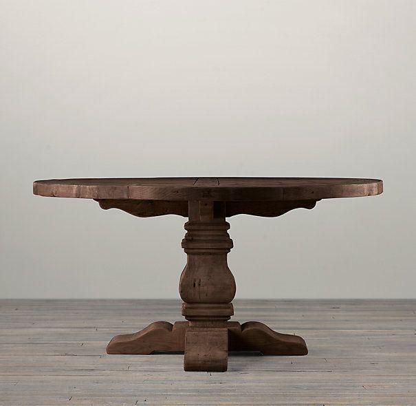 M s de 25 ideas incre bles sobre mesas redondas de madera - Mesas salon redondas ...