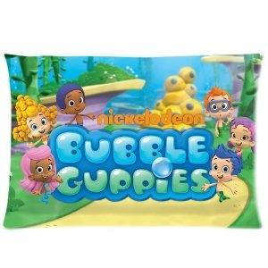 bubble guppies pillowcase