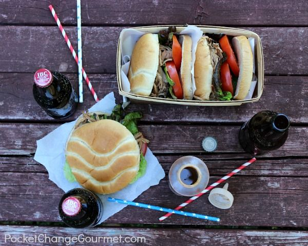 Pulled Pork Sandwiches with Root Beer Barbecue Sauce | Recipe