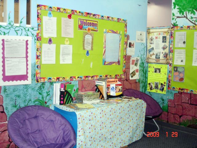 I believe creating and welcoming athmosphere  children help children and thier carer comfortable.