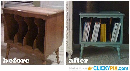 20 Before and After Furniture Makeovers