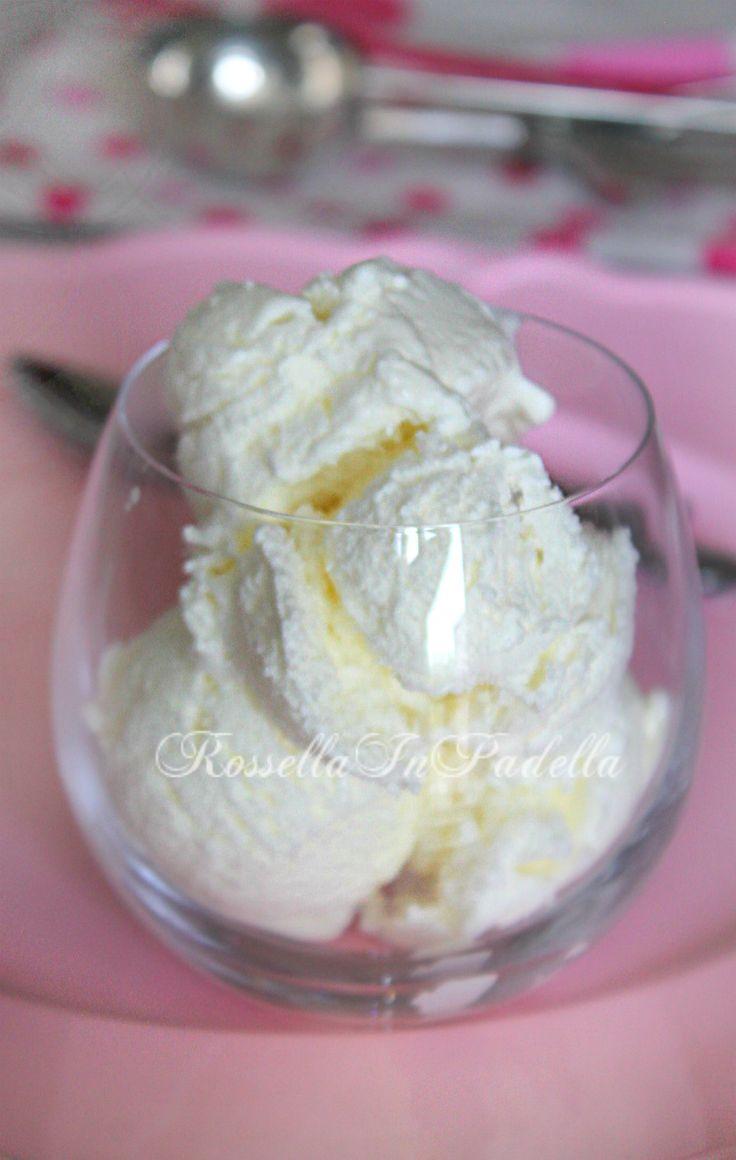 gelato panna senza gelatiera