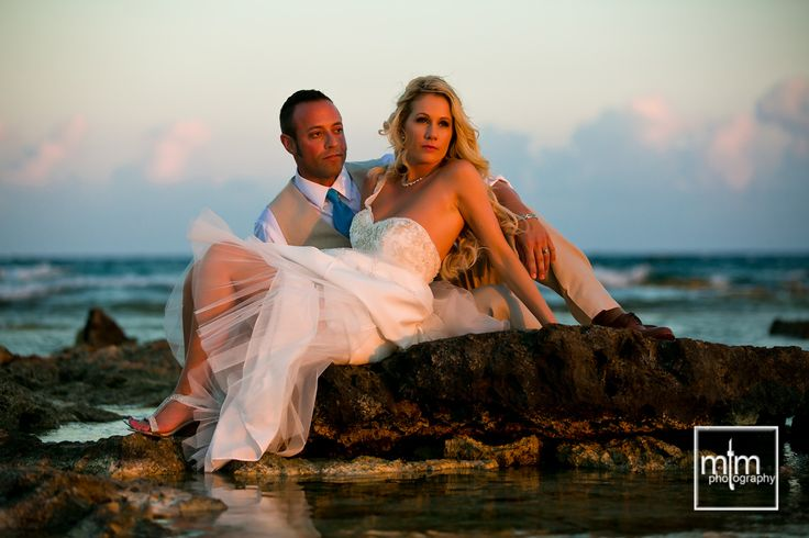 Jessica & Richard were wed at the Beautiful Barcelo Maya Palace Deluxe where their whole family celebrated in fine style!!! ~~   We'd love to cover your Big Celebration - contact us today for a free wedding planner and a chance to WIN free 2017 Wedding Photography (for a limited time) ~~   Moments That Matter Photography ~ Top Ranked Riviera Maya photographer since 2014!