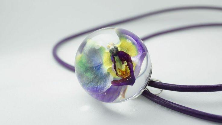 Wisiorek Orchidea II w coodoky na DaWanda.com