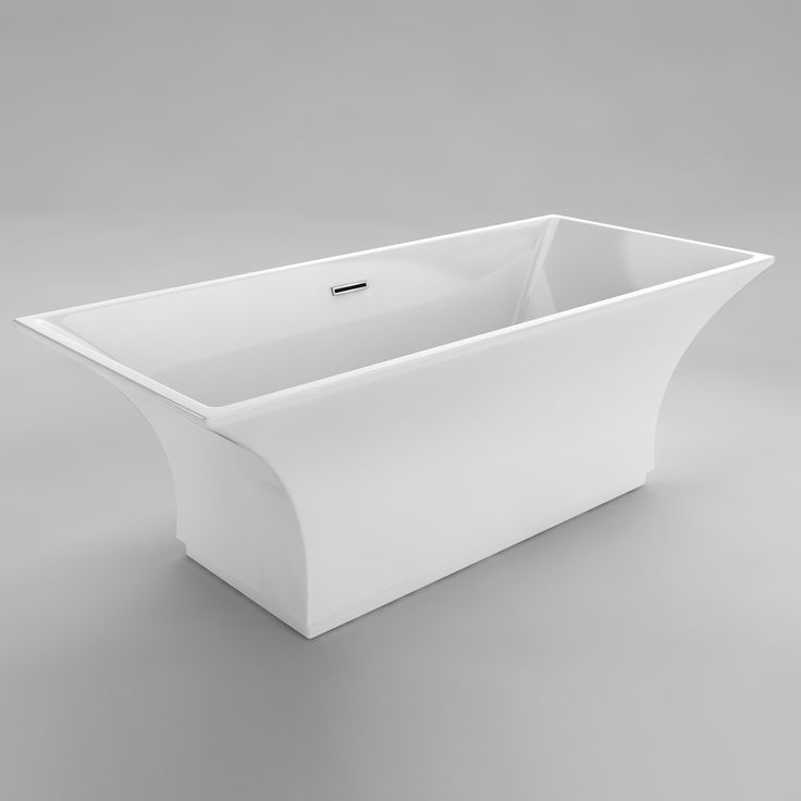As part of the Opulence Collection, the Chardin is a modern soaker bathtub that…