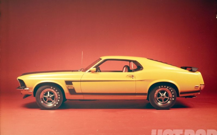 Mach 40 1969 Ford Mustang Boss 302 Throwback Photo 19