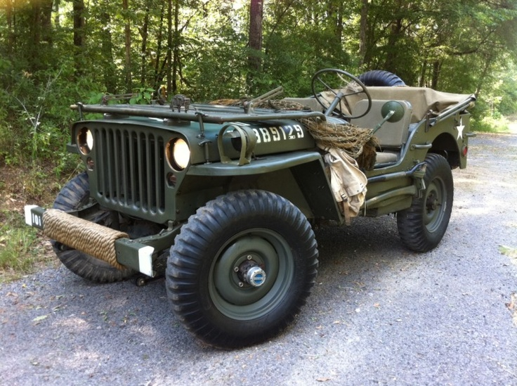WWII Ford GPW MB Army Military Jeep  : O I WANT ONE!