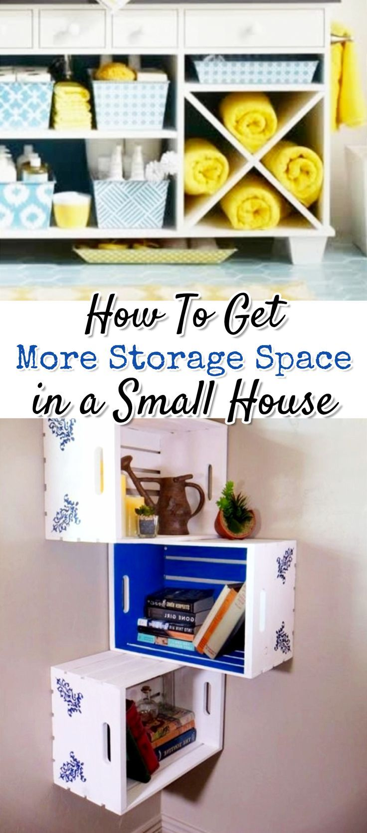 Creative Storage Solutions For Small Spaces Small House Storage