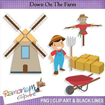 FREE On The Farm Clip Art