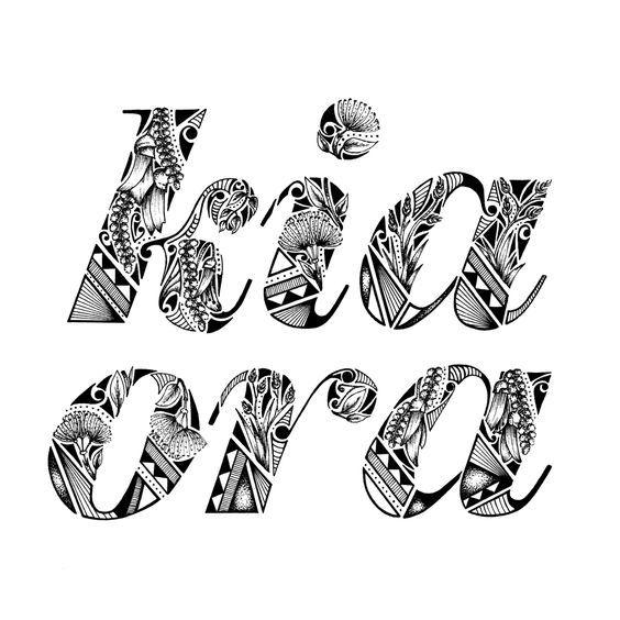 Kia Ora from NZ - Kate Hursthouse Design + Illustration: