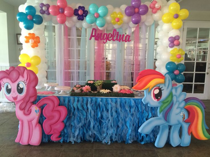 My Little Pony Birthday decoration