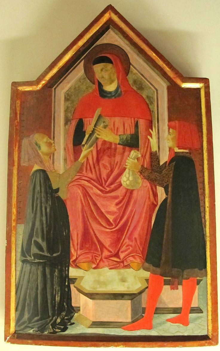Giudizio di Sant'Ivo, patrono dei notai - 1450 circa. - Museo dell'Opera del Duomo