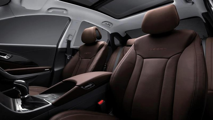 Check out the Chestnut Brown leather interior of the 2013 ...
