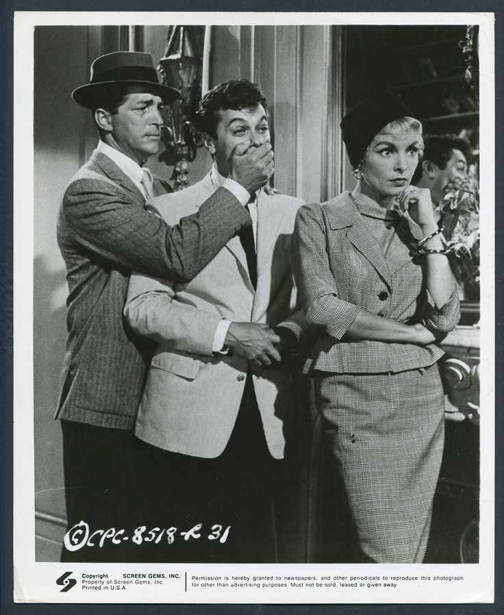 Who Was That Lady '60 JANET LEIGH TONY CURTIS DEAN MARTIN