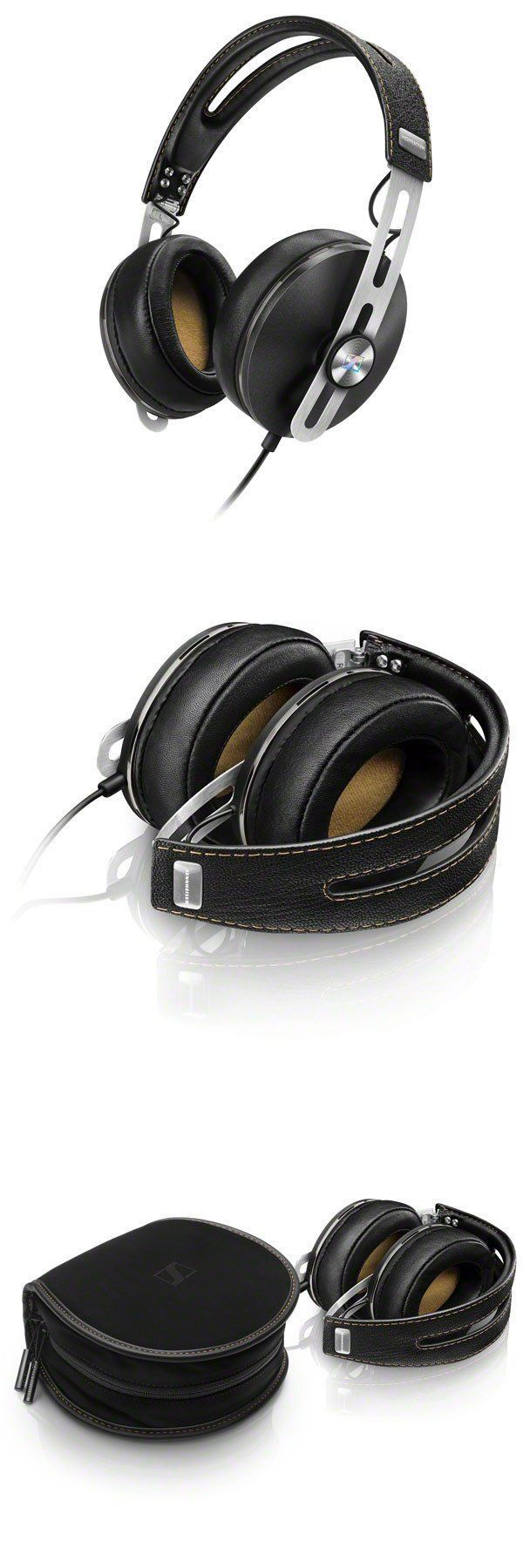 Headphones: Sennheiser M2aei Momentum 2.0 Foldable Over-Ear Stereo Audio Headphones Black BUY IT NOW ONLY: $179.5