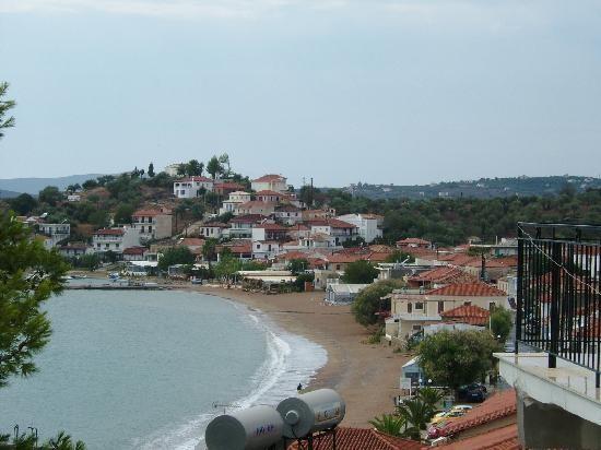 Finikounda village et la plage