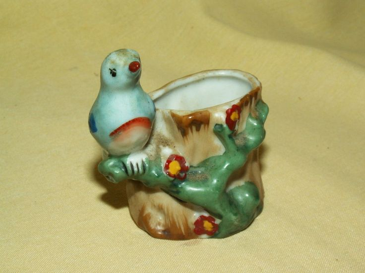 17 best images about animal collectibles for sale on pinterest hong kong cork stoppers and - Bird toothpick holder ...