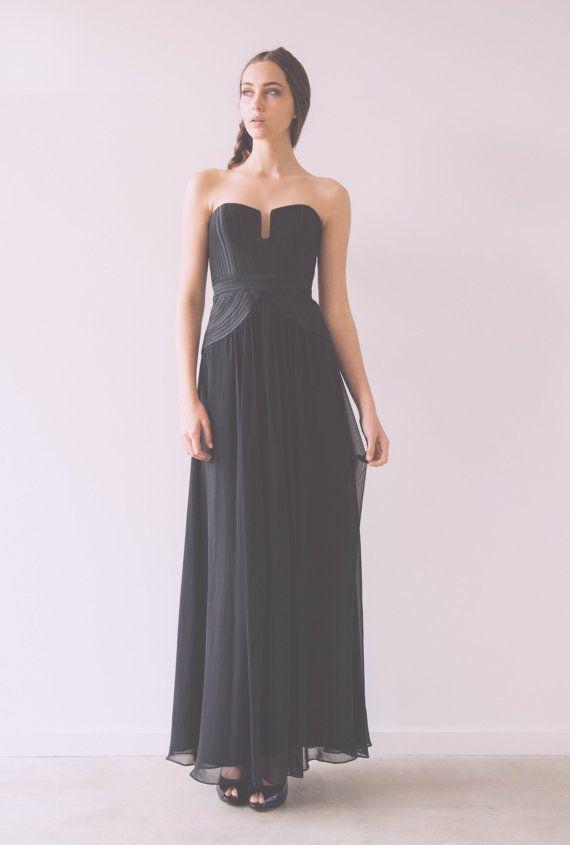 Strapless Grecian Gown by WhenFreddiemetLilly on Etsy, $249.95
