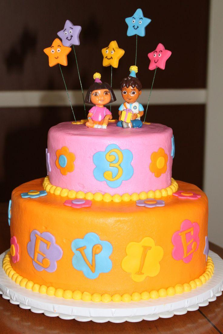 Cake Design Dora L Exploratrice : 17 Best ideas about Dora Birthday Cake on Pinterest Dora ...