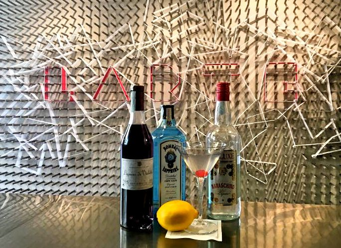 #Taste  Aviation:  Gin, Maraschino, Creme de violette, Succo di limone fresco, ciliegia maraschino              #historic #cocktail #milanocentro #aperitivo #larte #milano #viamanzoni5