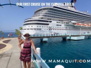 Our first cruise. A description of what we did and what to expect