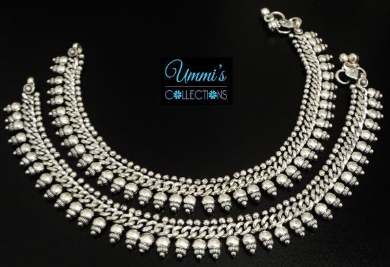 Anklet Length: 11 - Comes in Pair Want EXTRA 10% - 20% OFF ? ? ?  Visit www.Facebook.com/ummiscollections - Email us the