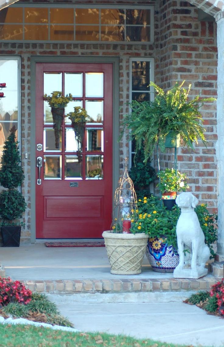 20 best Screen door ideas images on Pinterest | Red doors, Curb ...