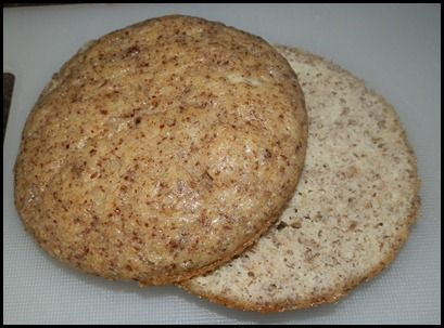 """Low carb breads Low Carb Buns (Inspired by One Minute Bread, The Next Minute Toast by Ginny) Makes 6 buns. 1/4 cup Butter 6 Large Eggs 1/3 cup Water 3 tbsp Parmesan 1/2 cup Almond Flour 1/3 cup Flax Meal 1 1/2 tsp Baking Powder 1/2 tsp Salt 1 1/2 tsp Splenda"""""""