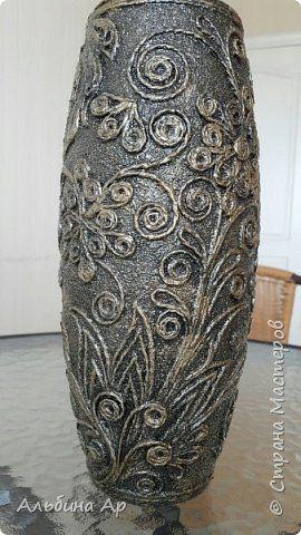 Здравствуйте, мои дорогие! Родилась очередная ваза из триптиха!  фото 1